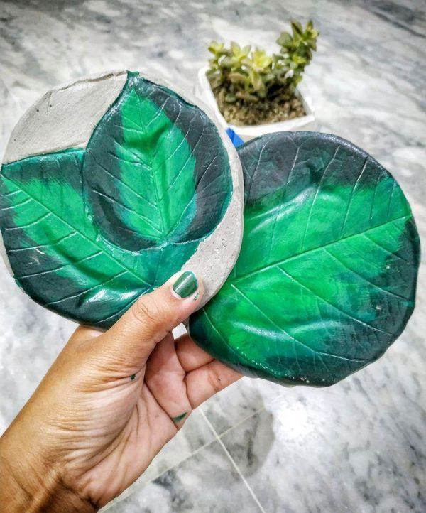 Leafy Coaster