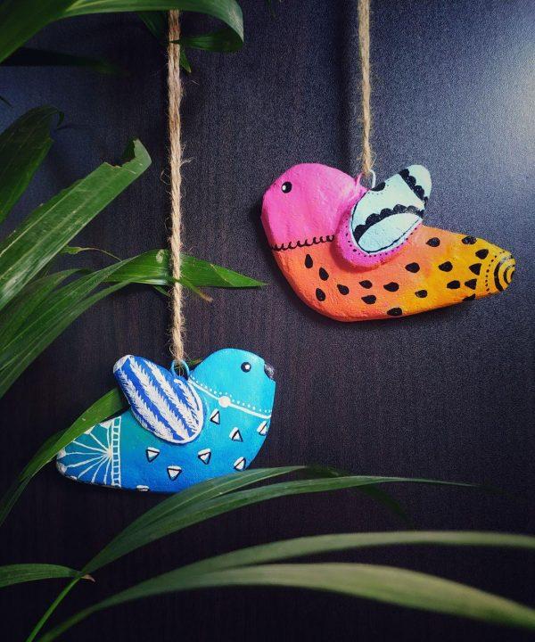 Birds Hanging